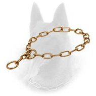 Curogan Belgian Malinois Fur Saver Choke Collar - 1/9 inch (3mm)