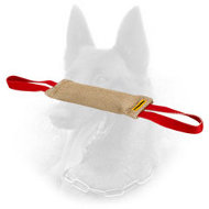 Durable Belgian Malinois Bite Tug of Natural Jute