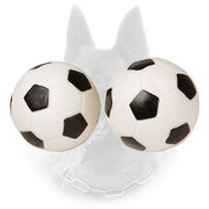 Sound Belgian Malinois Bite Ball - Football Design