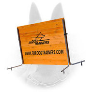 New High Quality Schutzhund Wood Jump for Belgian Malinois Training