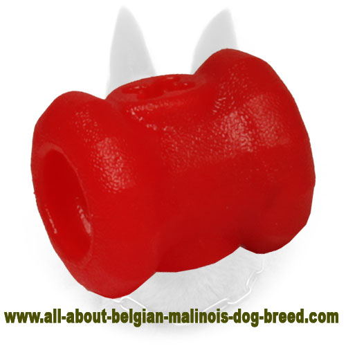 Colorful Rubber Belgian Malinois Chewing Toy