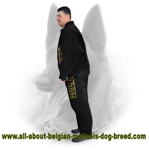 Flexy Belgian Malinois Protection Bite Suit for Training