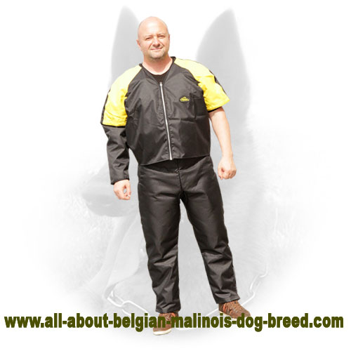 Multifunctional Belgian Malinois Scratch Protection Jacket for Comfortable Training