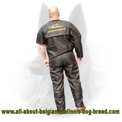 Nylon Belgian Malinois Scratch Protection Jacket for Training