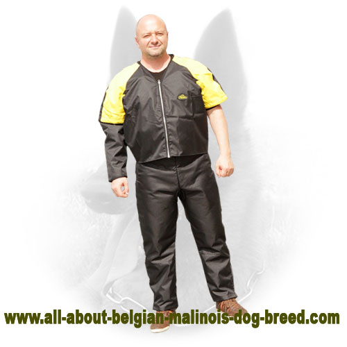 Safe Belgian Malinois Protection Scratch Suit for Training