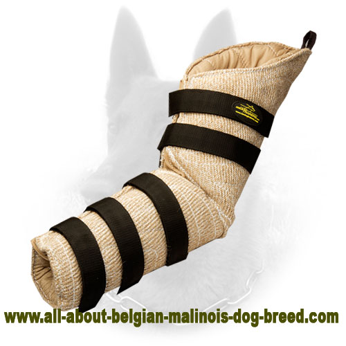 High-End Belgian Malinois Bite Sleeve of Jute Material