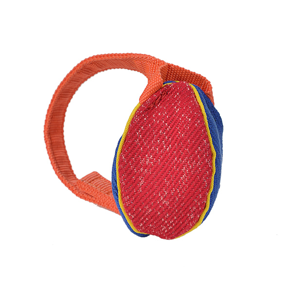 Bright Design Extra Small French Linen Bite Tug for Training and Having Fun