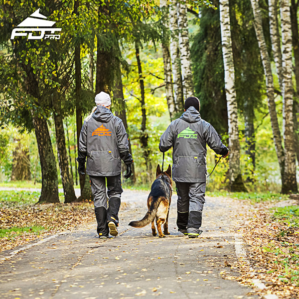 FDT Professional Dog Trainer Jacket of Finest Quality for Any Weather