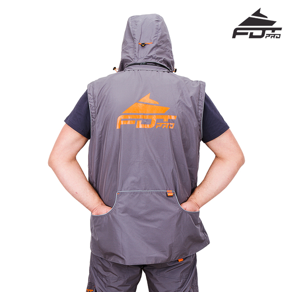 Strong Dog Training Suit of Grey Color from FDT Pro Wear