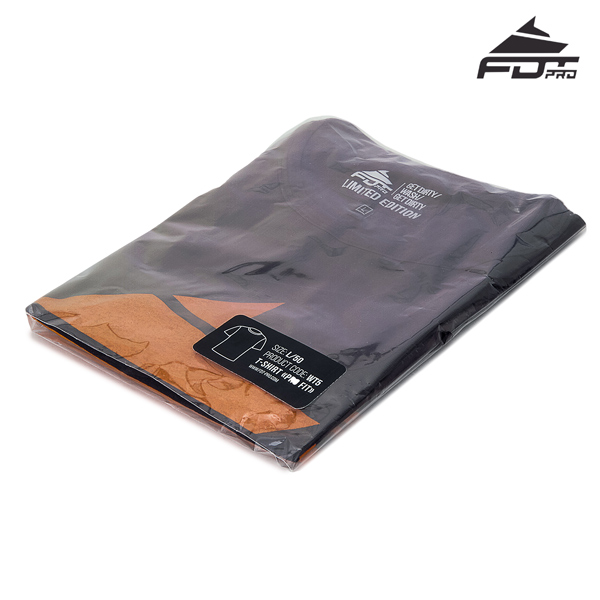 Prepacked FDT Pro T-shirt of Dark Grey Color