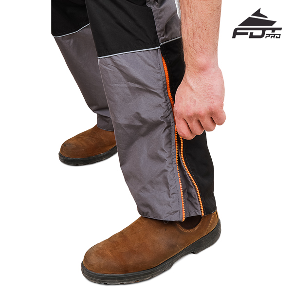FDT Professional Design Pants with Durable Zippers for Dog Tracking