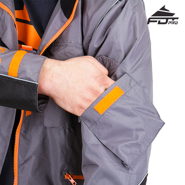 Strong Sleeve Pocket on Pro Design Dog Trainer Jacket