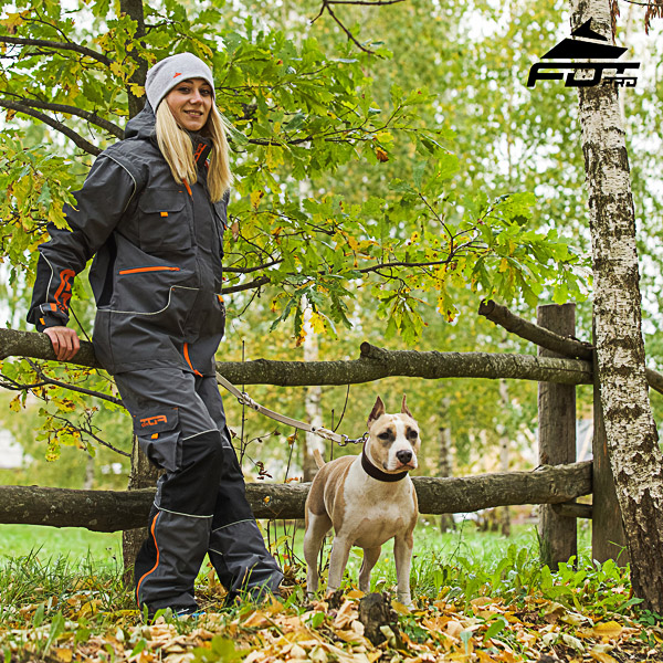 Men / Women Design Pants with Convenient Back Pockets for Active Dog Trainers