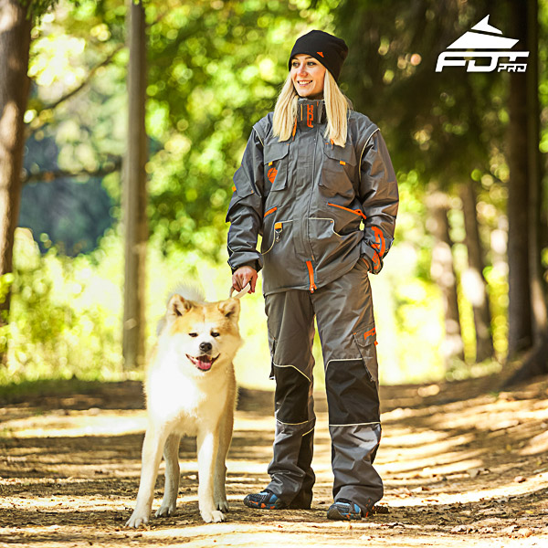 Unisex Design Dog Trainer Jacket of Top Notch Materials