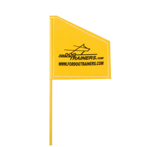 Yellow Flag for Dog Training