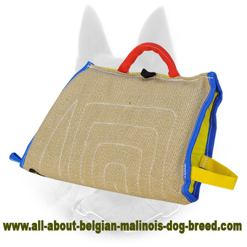 Superable Jute Belgian Malinois Sleeve for Puppy Training