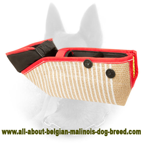 Efficient and Safe Belgian Malinois Bite Sleeve of Jute Material