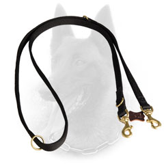 Classy Nylon Belgian Malinois Leash for Safe Tracking