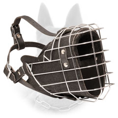 Military Service Wire Basket Belgian Malinois Dog  Muzzle