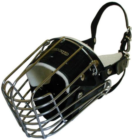 Malinoies wire basket dog muzzle for dog training ,dog walking